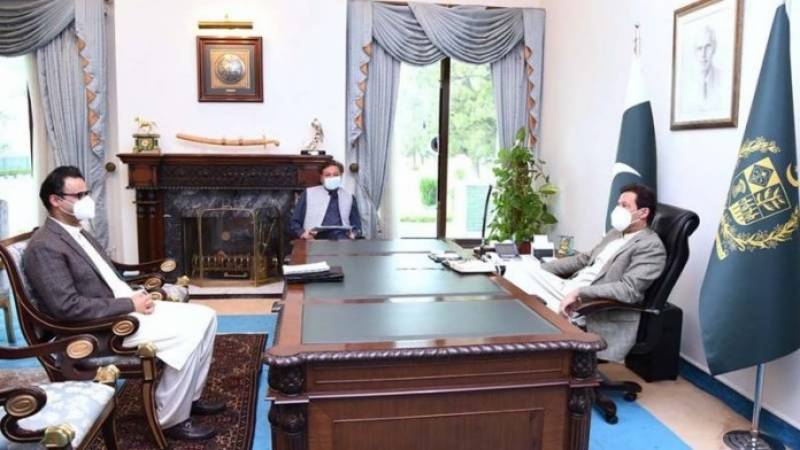 Tabish Gohar's meet with PM