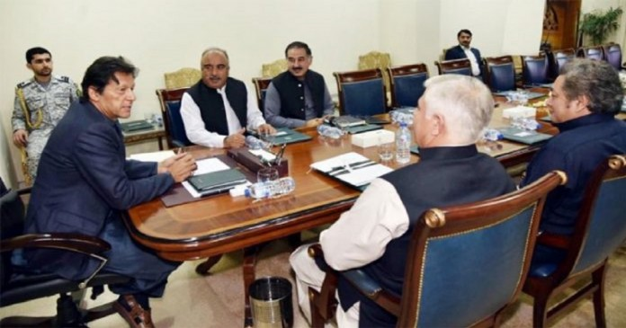 Peshawar: Meeting with the Prime Minister