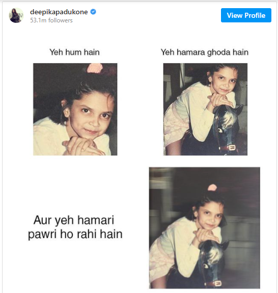 Deepika also could not live without copying Pakistani party girl