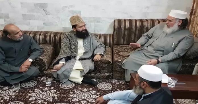 Maulana Abdul Khyber Azad meets Mufti Shahabuddin Popalzai