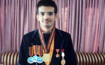 A young Pakistani scientist who was not admitted to any university in the country for a year