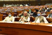 Prime Minister Imran Khan received a vote of confidence from the National Assembly