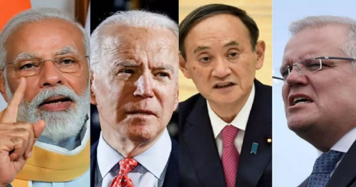 A summit of the United States, India, Japan and Australia will be held on Friday to reduce Chinese influence