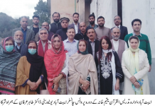 Abbottabad Vice Chancellor Prof. Dr. Tahir assures scholarships for higher education