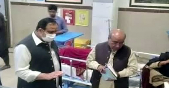 Chief Minister Punjab's raid on Tehsil Hospital Taunsa Sharif last night, MS suspended