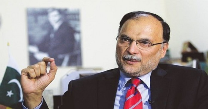 Imran Khan has nothing but speeches and fundraising, Ahsan Iqbal